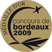 MEDAILLE OR CONCOURS BX